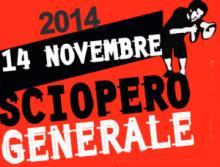 Generalstreik in Italien 14.11.2014