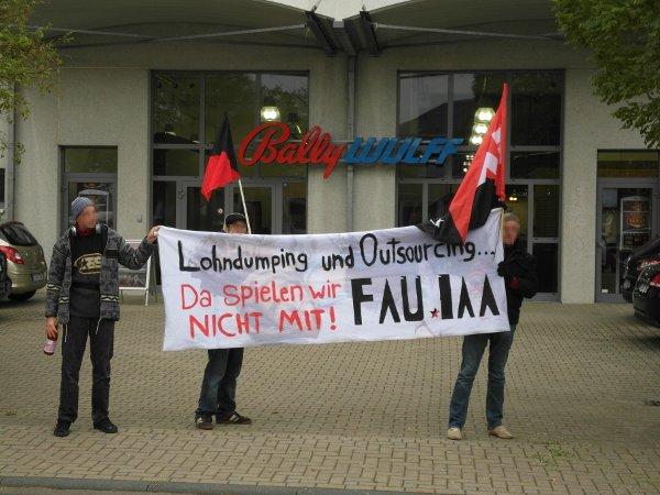 Bally Wulff Aktionstag Köln