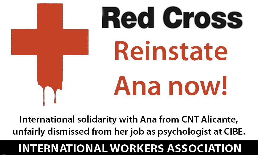 Rotes Kreuz - CNT-IAA Alicante