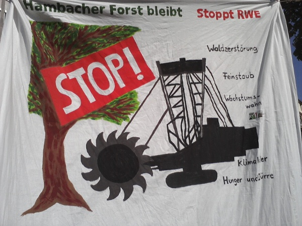 Hambacher Forst bleibt! Stoppt RWE!