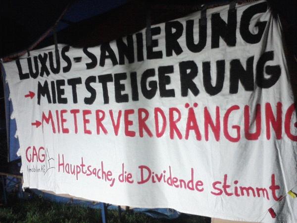 GAG-Mieter/innen-Protest