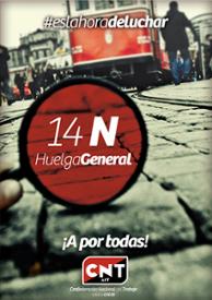 Plakat der spanischen CNT-IAA