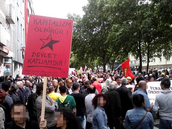 Kapitalismus tötet - Staat ist Massenmord!