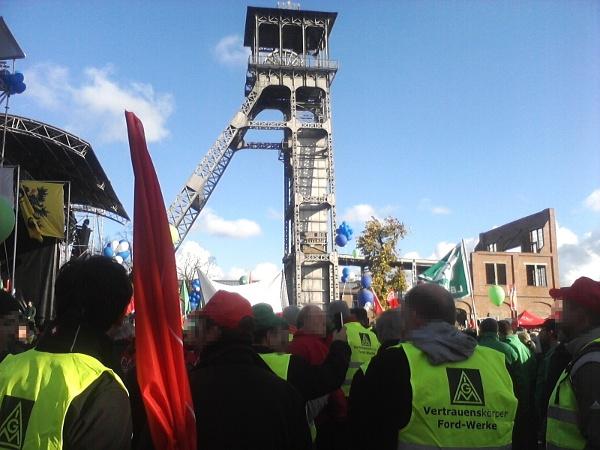 Ford-Arbeiter/innen aus Köln
