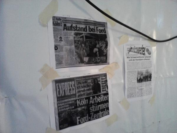 Berichte vom Protest in Köln