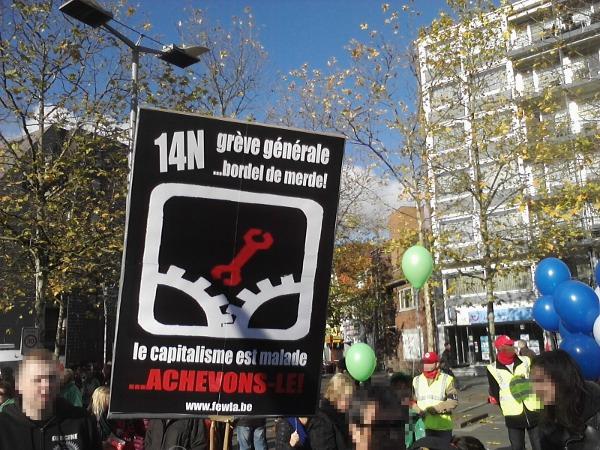 Aufruf zum Europäischen Generalstreik am 14.11.