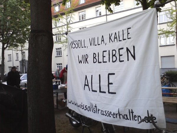 """Transparent: \""""Wissol, Villa, Kalle - wir bleiben alle\"""""""