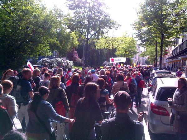 Demo Venloer Stra�e