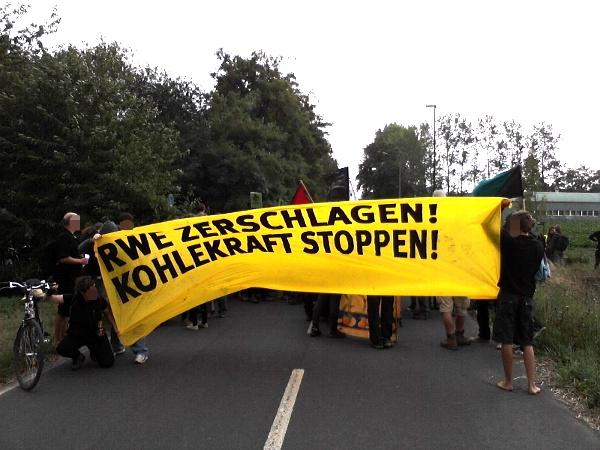 RWE zerschlagen! Kohlekraft stoppen!