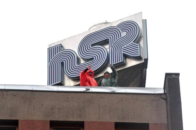 Dachbesetzung San Raffaele 2012