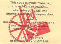 Vio.Me Seife aus Arbeiter-Selbstverwaltung