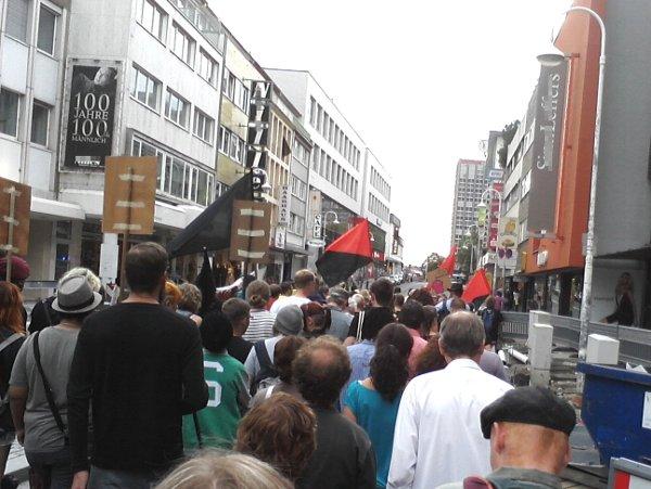 Koblenz 28. August 2012 - Zentralplatz-Gedenken